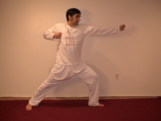 free illustrated Kundalini Yoga Archer pose for confidence and self esteem
