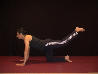 Top Yoga Pose #3 - Ending Position
