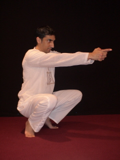 root chakra cleansing via kundalini yoga crow pose