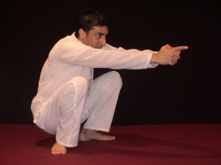hatha yoga crow pose, kundalini yoga crow pose, yoga pose root chakra, yoga pose heart chakra, free yoga posture illustration, free kundalini yoga posture
