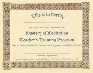 Online Meditation Teacher Training Program| Anmol Mehta ...