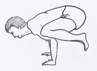 hatha yoga book illustration 23