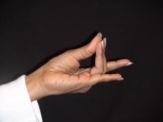 Hand Yoga Apan Hand Genture