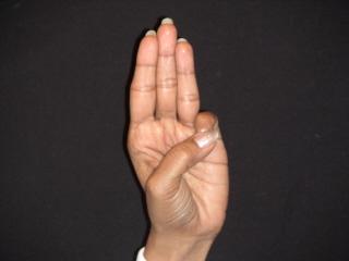 Hand Yoga Buddhi Mudra