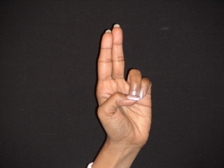 Hand Yoga Christ Gesture