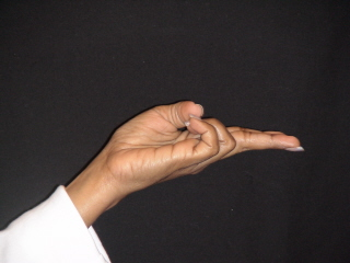 Christ Hand Yoga Mudra